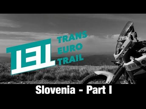 TET - Trans Euro Trail - Slovenia - with Yamaha XT 660 Z Ténéré