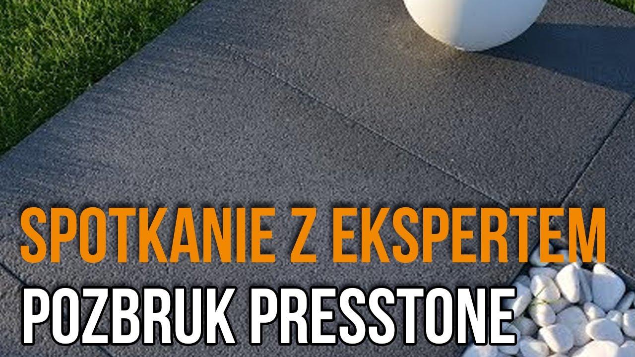 Tarasowe Płyty Presstone Spotkanie Z Firmą Pozbruk