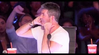Download Defiant Simon Cowell Gets Crowd Boos for MOST RUDE Reaction! | America's Got Talent 2017 Mp3 and Videos