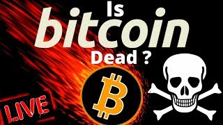 👀 IS BITCOIN DEAD? 👀bitcoin litecoin price prediction, analysis, news, trading