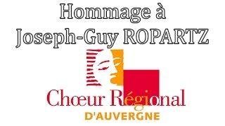 Hommage à Joseph-Guy ROPARTZ