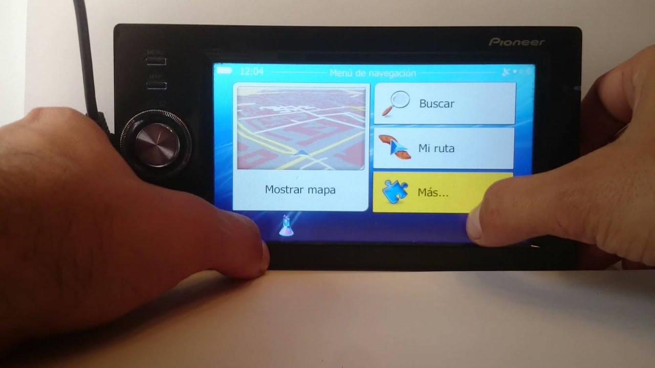 NEW DRIVER: PIONEER AVIC-F500BT GPS NAVIGATION