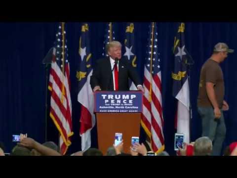 Donald Trump full speech at Asheville North Carolina 9/12/16