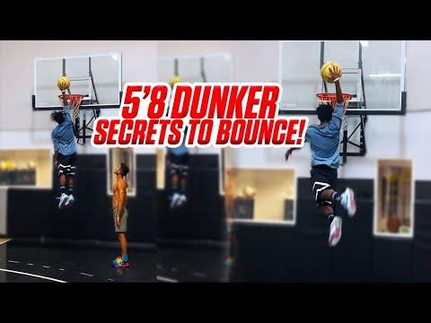 How To Jump Higher! 5'8 Dunker Shares Tips! | Ryan Razooky