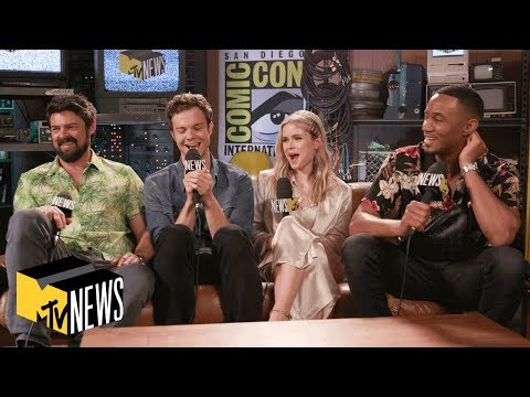 'The Boys' Stars Exclusive Interview | MTV News