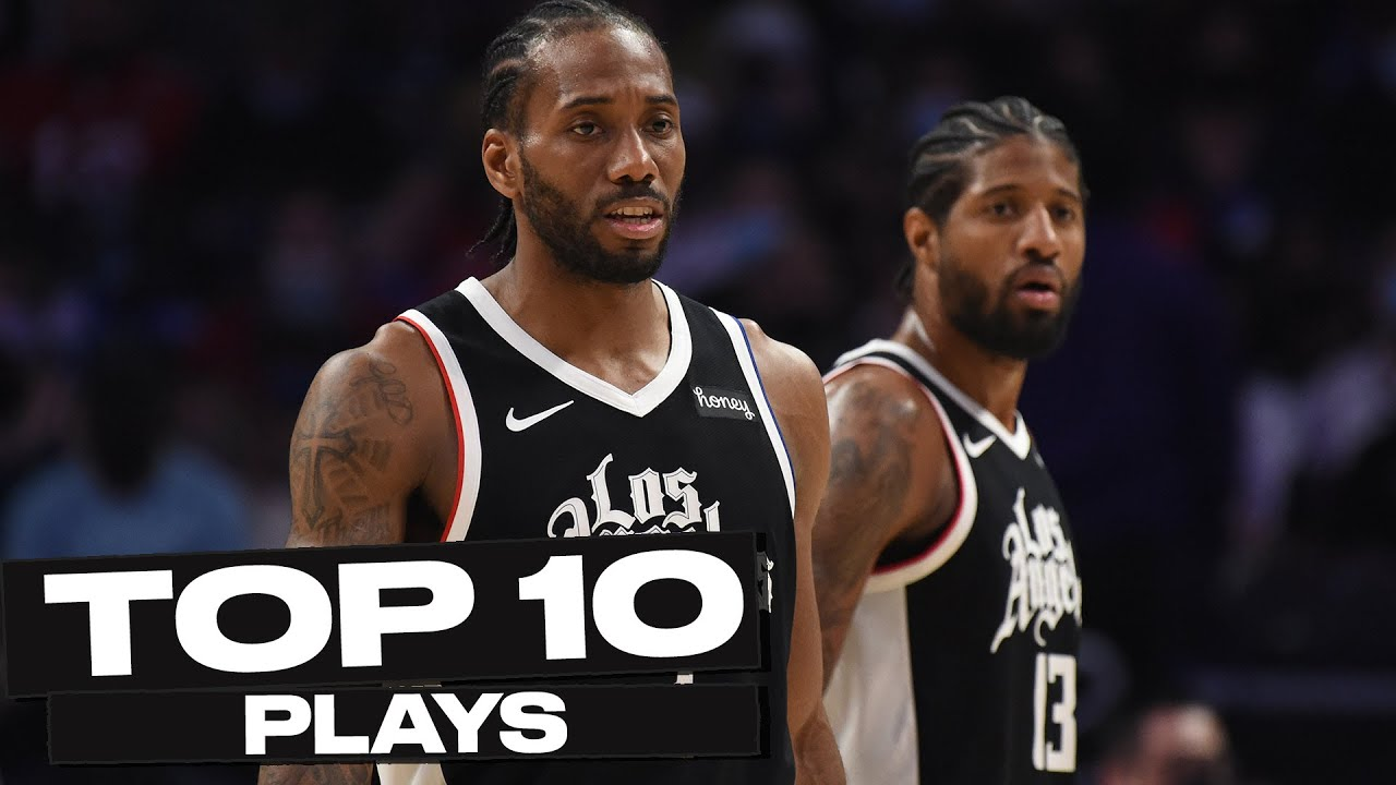 Top 10 Los Angeles Clippers Plays of The Year! 🏀