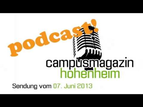 Campusmagazin Hohenheim vom 07.06.2013