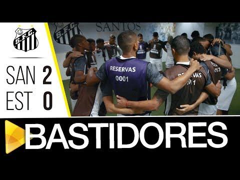 Santos 2 x 0 Estudiantes | BASTIDORES | Libertadores (24/04/18)