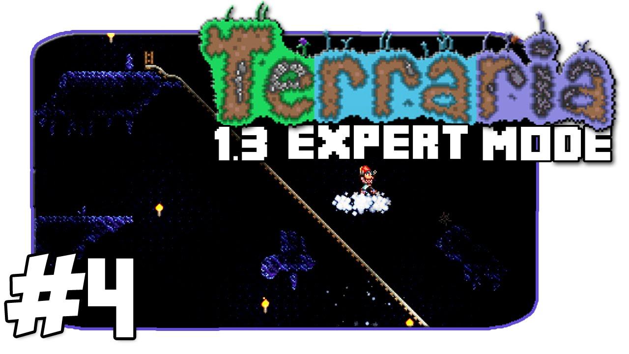 Terraria 1 3 Expert Mode Granite Cave Episode 4 Youtube
