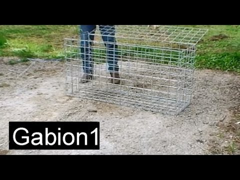 How To Assemble A Gabion Basket In 4 Minutes Youtube