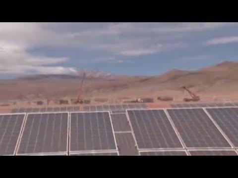 Avanzan las obras de la planta solar de Cauchari que se instala en la puna jujeña