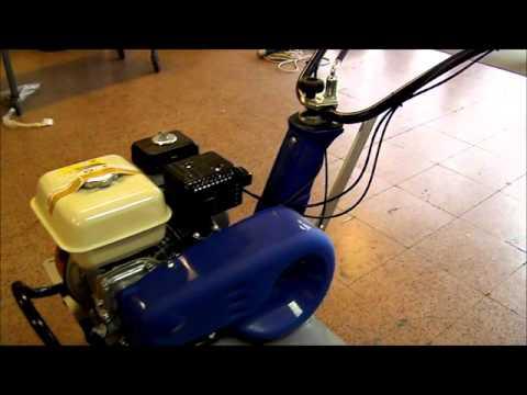 7 asta motozappa honda youtube for Motozappa youtube
