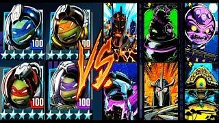 Черепашки-Ниндзя  из КОСМОСА - ПРОТИВ БОССОВ (мобильная игра) TMNT Legends UPDATE X