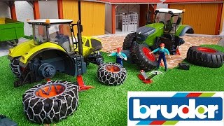 BRUDER TOYS RC tractors NEWS delivery