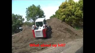 Demonstration the Stability of a TAKEUCHI TL130 track loader