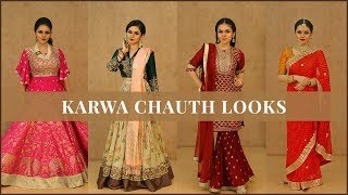 How to Dress up for Karwa Chauth? Get Ideas with Saree.com by Asopalav