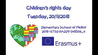 Primary School of Melissi - Children's rights day