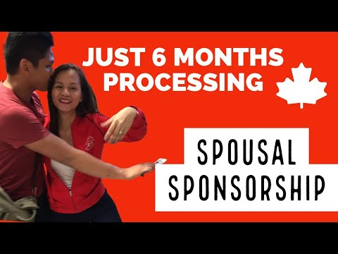 How To Move In Canada | Visa | Family Sponsorship | 6 - 7 MONTHS Process