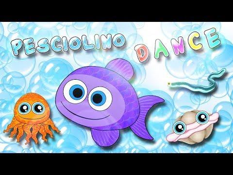Pesciolino dance - Canzoni per bambini - Baby cartoons - Baby music songs