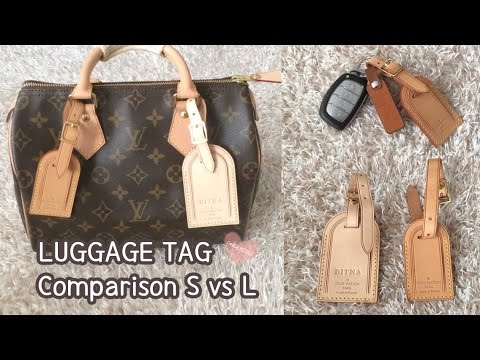 de7fd57bbf09 Louis Vuitton Luggage Tag Comparison