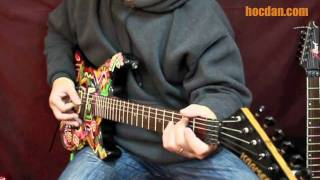 E-Guitar - Solo 01 : Sử dụng móng, tay phải