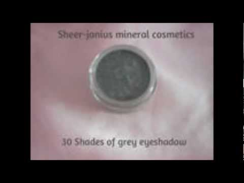 Sheer-jeanius 50 shades of grey mineral eyeshadow.mp4