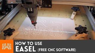 How To Use Easel  Free Cnc Software