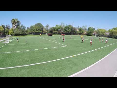 WV United white Vs LFS Bay Area 08B Academy