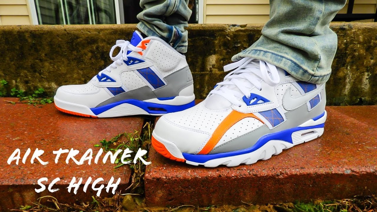 new product 0c80a 9922b Nike Air Trainer SC High Reverse Auburn On Feet Review!!!