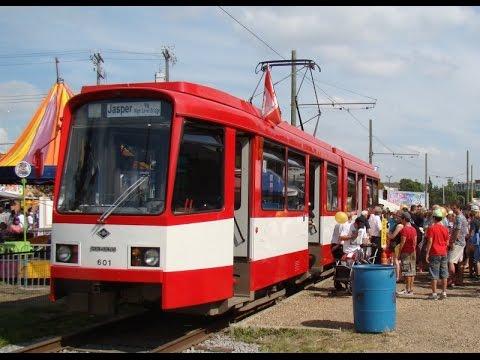 Hannover 601 Straßenbahn von Edmonton