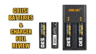 Golisi Batteries and Charger Awesome Review