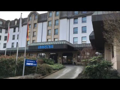 Hotel Review: Maritim Königswinter, North Rhine Westphalia, Germany - March 2016