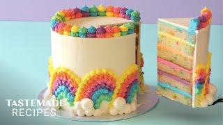 Taste The Rainbow in These 4 Incredible Cakes  Tastemade Sweeten