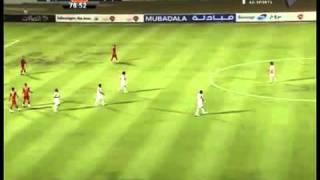 هدف ذياب عوانه على منتخب لبنان