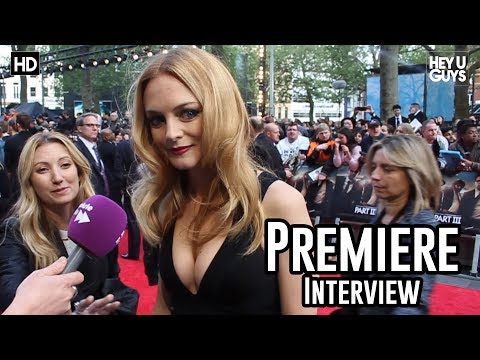 Heather Graham Interview - The Hangover 3 Premiere
