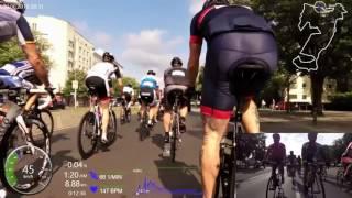 Velothon Berlin 2016 120 Km Block B 42,65 Km/h Schnitt