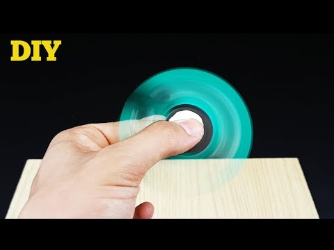 DIY FIDGET SPINNER - EASY TO MAKE WITHOUT BEARINGS