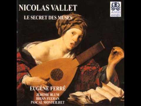 """Nicolas Vallet: """"Le Secret Des Muses"""" (Ferre, Monteilhet)"""