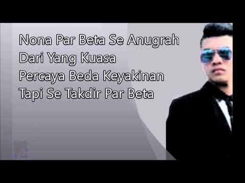 Vicky Salamor - Cinta Beda Agama (Lirik Video) Lagu Ambon Hits