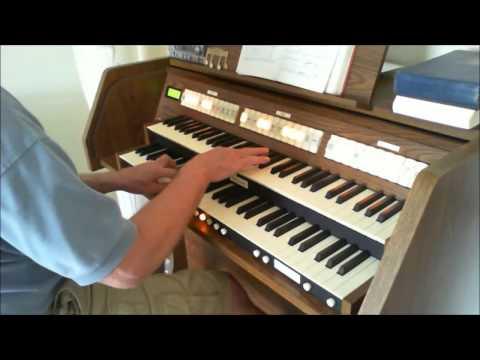 On Jordan's Bank ( Tune WINCHESTER NEW L.M. ) Organpipe8