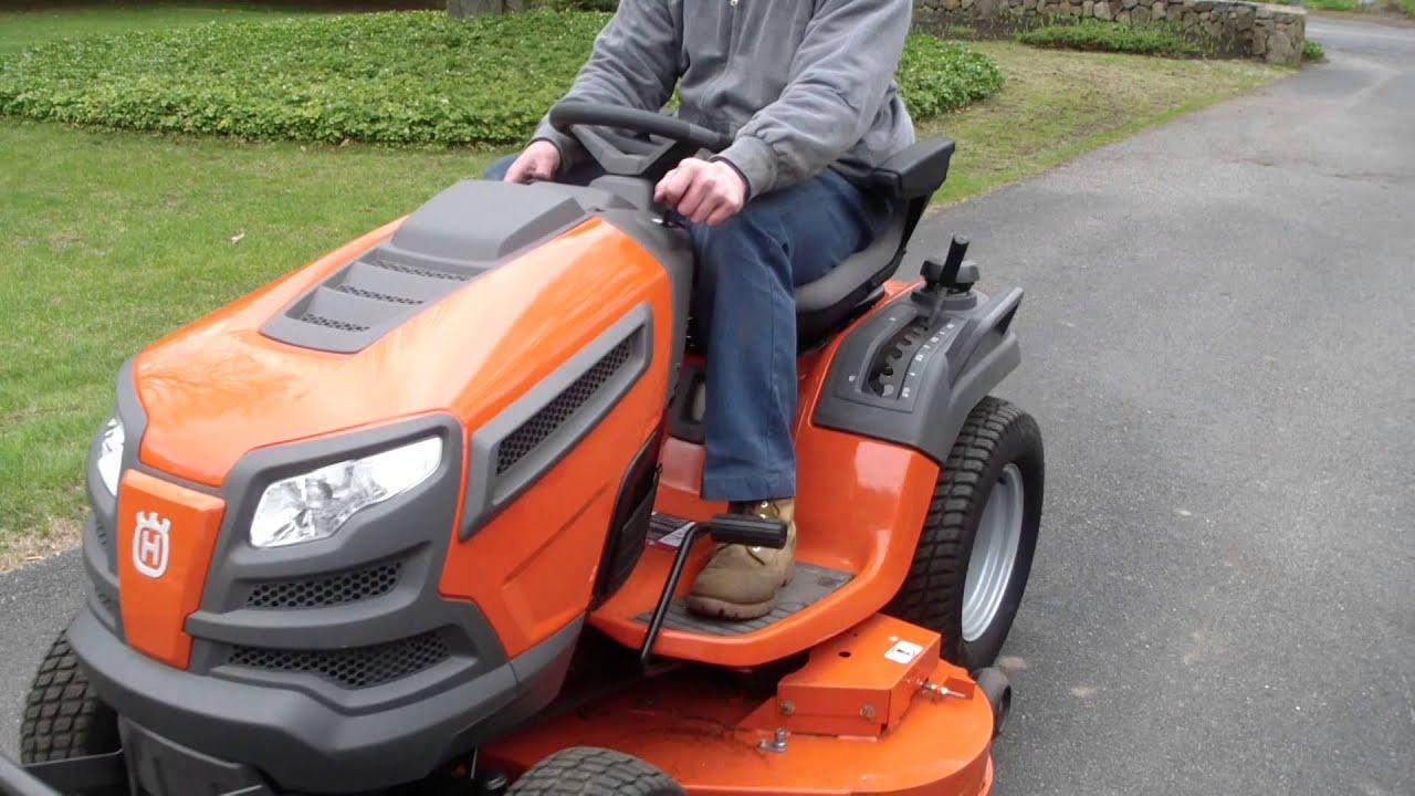 Husqvarna GTH26V Tractor with a Kawasaki : LightTube