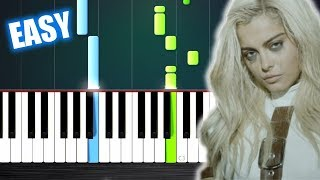 Bebe Rexha - I'm A Mess - EASY Piano Tutorial by PlutaX