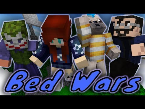 DOWN TO THE WIRE CHALLENGE! - Minecraft Bed Wars