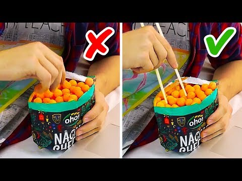 20 GENIUS FOOD HACKS