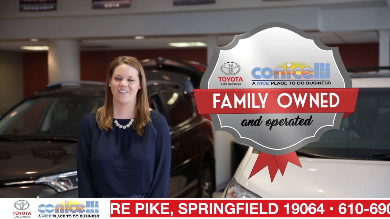 Why Buy From Conicelli Toyota Of Springfield?