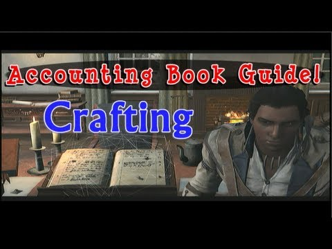 Crafting - Accounting Book Tutorial - Trading Naval Convoy Assassin's Creed 3 AC3 FurryMurry7