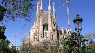 Достопримечательности Барселоны. Sagrada Familia Храм Святого Семейства(Одна из самых известных достопримечательностей Барселоны, символ города - Sagrada Familia Храм Святого Семейства...., 2013-07-03T21:37:18.000Z)