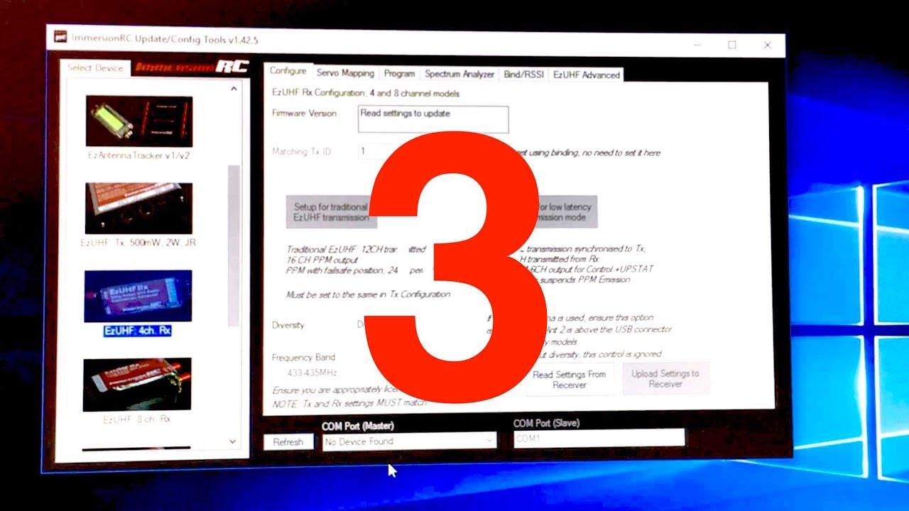 EzUHF (3) 4ch firmware update v1 53 & bind