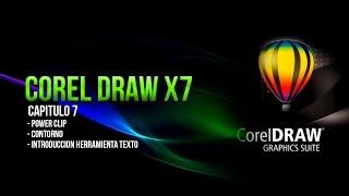 COREL DRAW X7 BASICO │ CAPITULO 7 / Power Clip y Contorno.