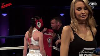 TMAS   White Collar Boxer 7   Hollie Bowness K1 Vs Inas Sillence